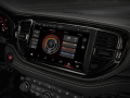 2021 Dodge Durango SRT Hellcat: The Challenger-inspired driver-oriented cockpit is refined, upscale and high-tech throughout, featuring an available, largest-in-class 10.1-inch touchscreen angled 7 degrees toward the driver.