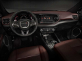 2021 Dodge Durango Citadel Interior (Ebony Red): The new interior feels wider and features a redesigned driver-centric cockpit, instrument panel, center console and front door uppers.