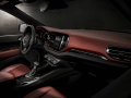 2021 Dodge Durango Citadel Interior (Ebony Red): A new, wrapped and accent stitched mid-bolster on the instrument panel is featured throughout the entire Durango lineup.