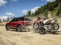 When properly equipped, Bronco Sport Badlands models can tow up to 2,200 pounds. (Pre-production model pictured.)