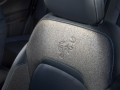 The Bronco Sport First Edition series offers leather-trimmed seats with mini perforation, as well as washable rubber flooring throughout. (Pre-production model pictured.)