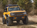 With more than 200 factory-backed accessories available at launch, this 2021 Bronco two-door prototype shows how owners can personalize their SUV to get more out of their outdoor experiences. (Aftermarket accessories shown not available for sale. Prototype not representative of production vehicle.)
