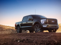 All-new F-150 Lariat in Space White.