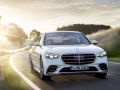 Mercedes-Benz S-Klasse, 2020, Outdoor, Fahraufnahme, Exterieur: Diamantweiß   Mercedes-Benz S-Class, 2020, outdoor, driving shot, exterior: diamond white