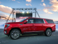 GMC unveils its next-generation 2021 Yukon XL Denali Tuesday, January 14, 2019 at an outdoor event near Vail, Colorado. Yukon XL retains its crown as GMC's roomiest SUV for both passengers and cargo, benefitting from a 4.1-inch increase in wheelbase. The result is an increase in both passenger and cargo space, with only a fractional change (less than 1%) to Yukon XL's overall length. (Photo by Steve Fecht for GMC)