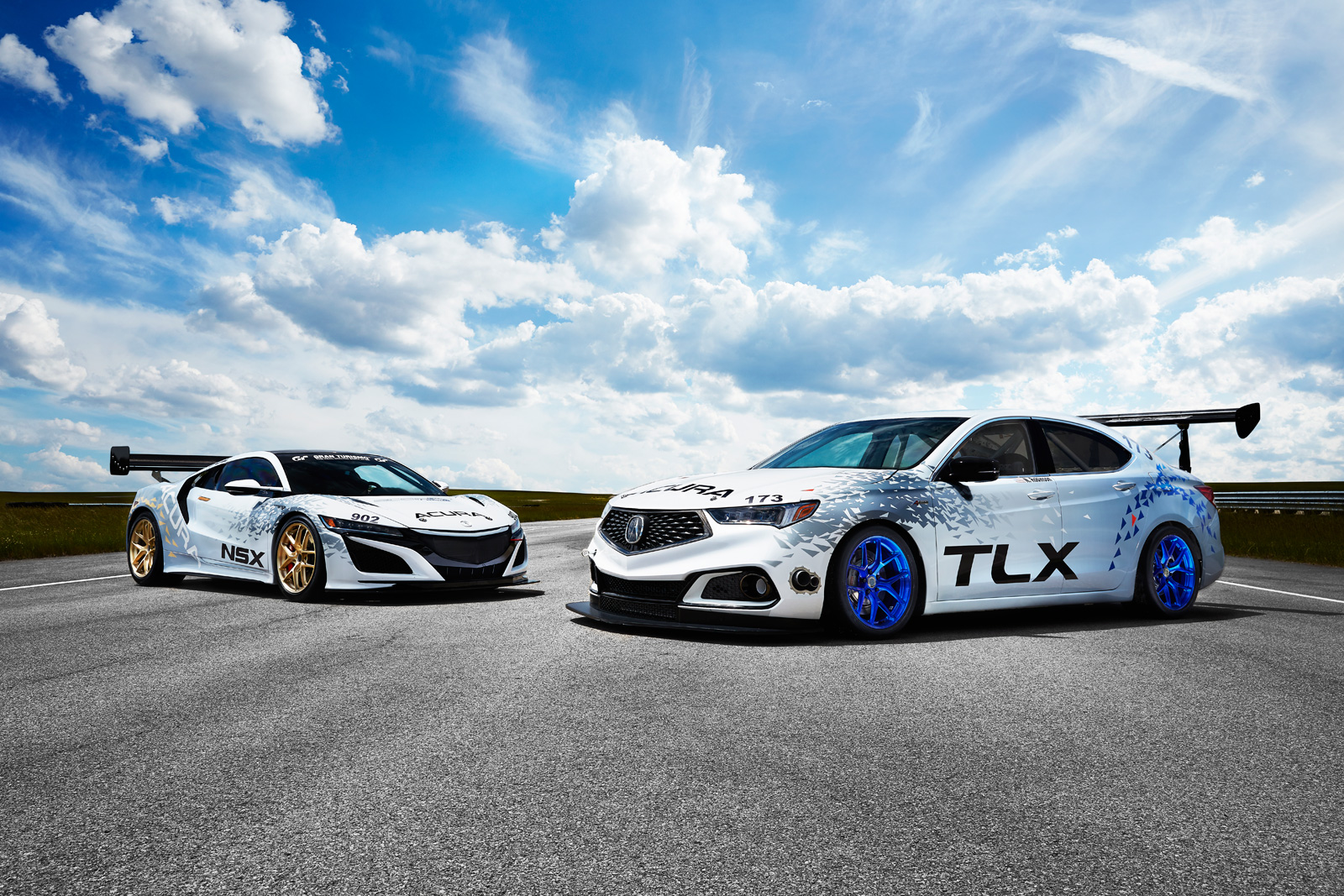 Acura nsx and tlx to race up pikes peak new tlx a spec makes