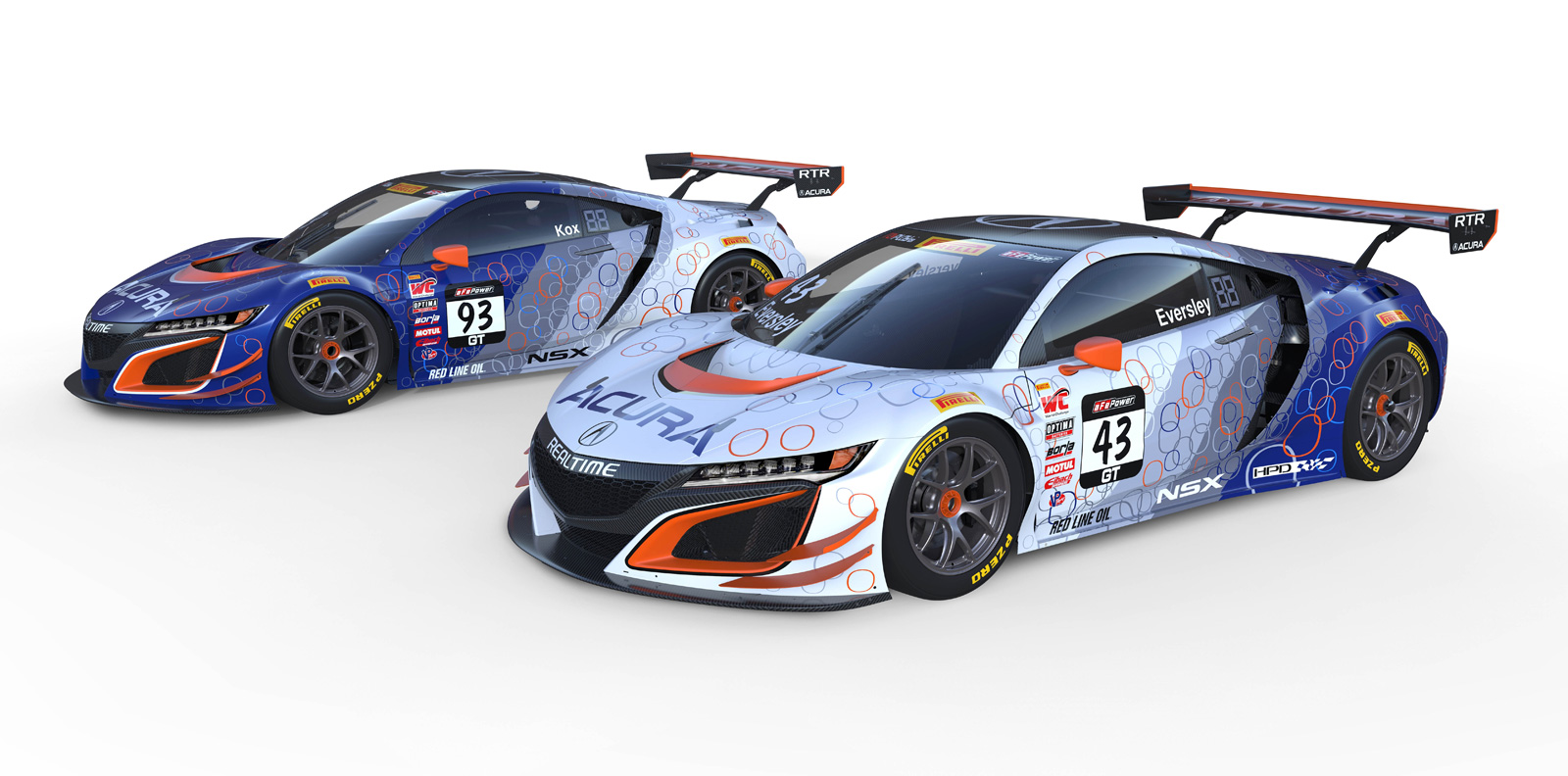 Here\'s How the Acura NSX GT3 Race Cars Will Look This Season ...