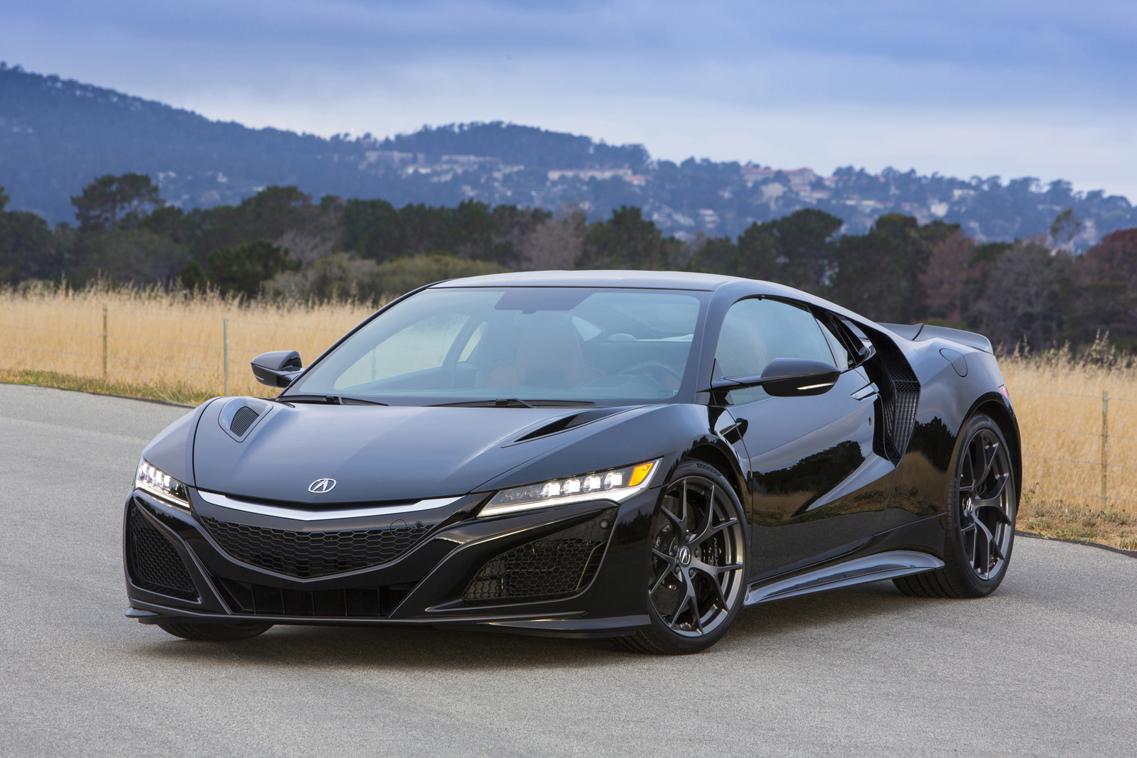 2017 acura nsx features 573 hp, arriving spring 2016