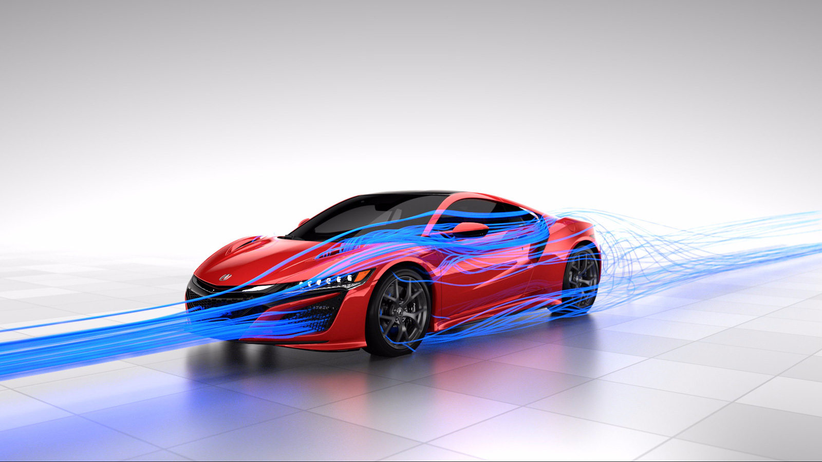 Honda New Nsx >> Learn How the 2017 Acura NSX's Aerodynamics Work » AutoGuide.com News