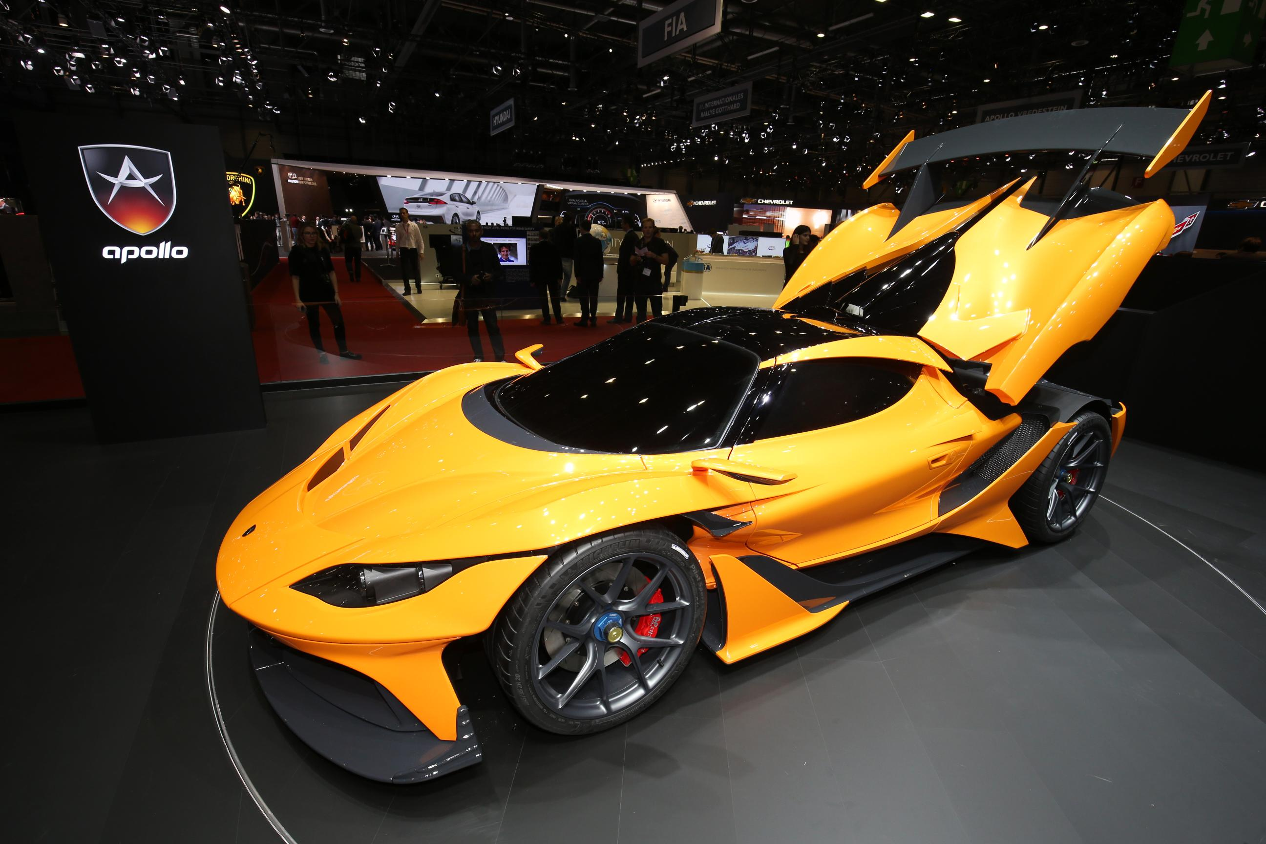 Apollo Arrow 2016 Geneva Motor Show 01