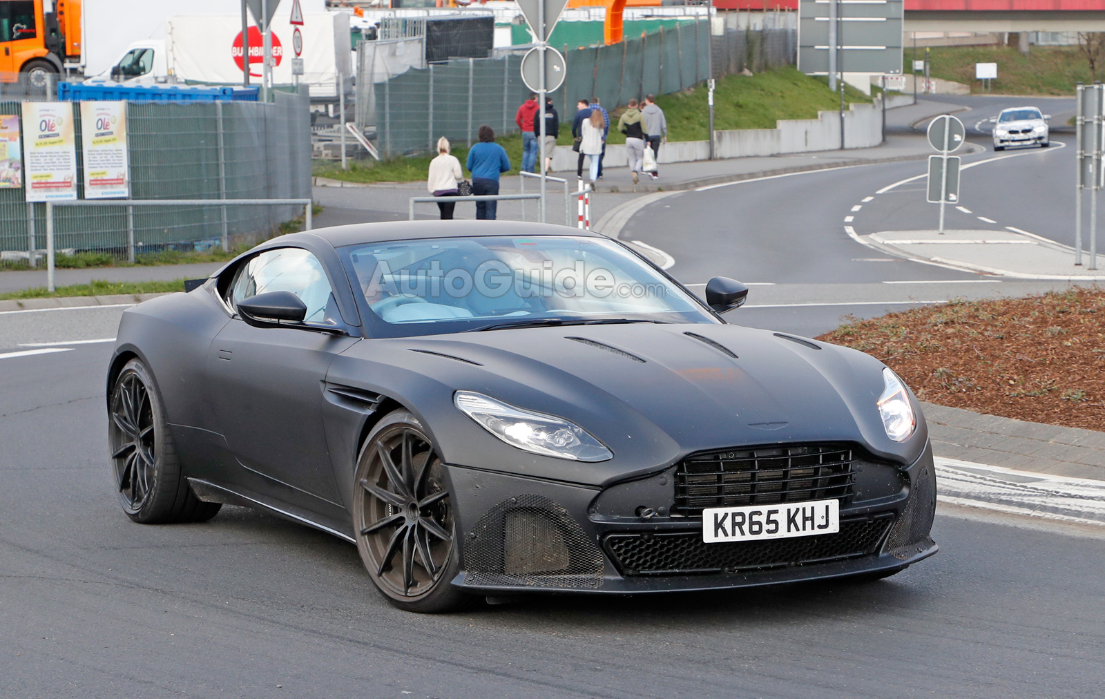 Hot Aston Martin Db11 S Spied Looking Fierce Autoguide Com News