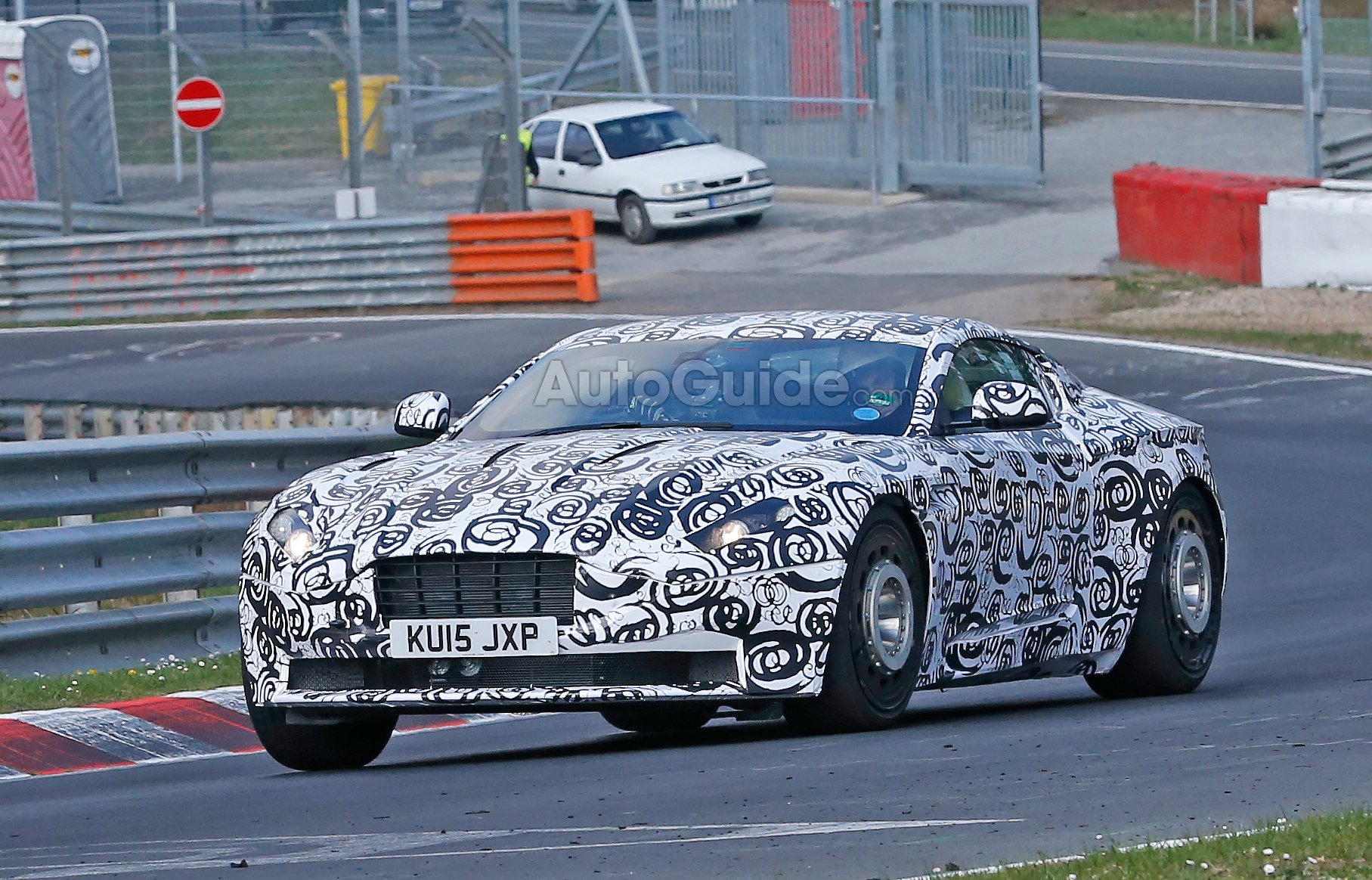 Aston Martin DB11 Spied Running the Ring AutoGuide News