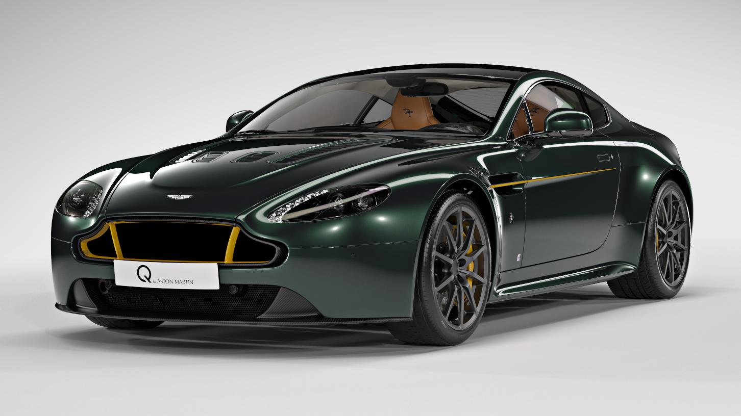 Aston Martin Cambridge Creates Custom V12 Vantage To Honor The Spitfire 187 Autoguide Com News