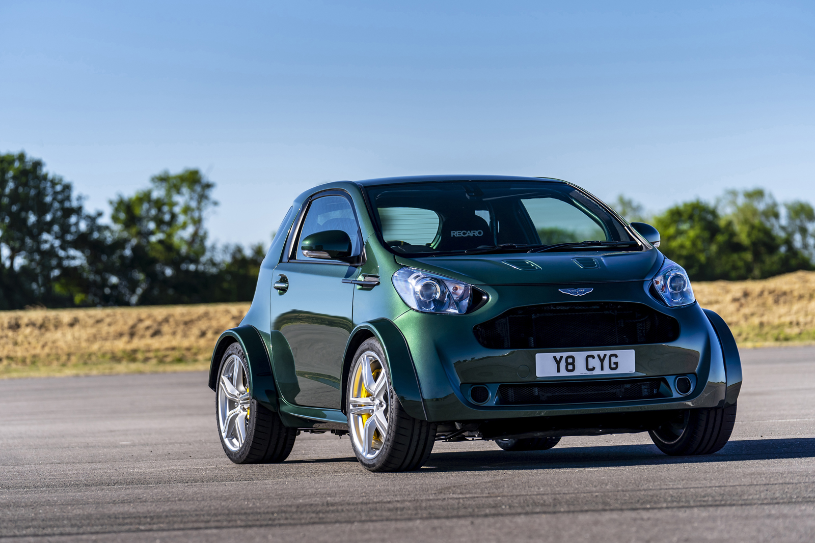 Aston Martin V8 Cygnet Is Real And Completely Bonkers