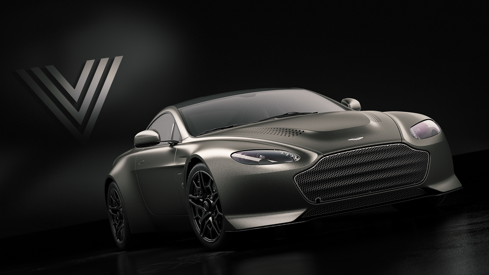 Aston Martin Vantage V600 A 600 Hp V12 And A Seven Speed Manual