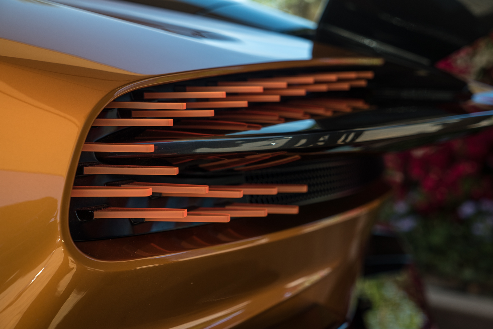 Aston Martin Vulcan Revealed In Volcanic Orange Color Autoguide