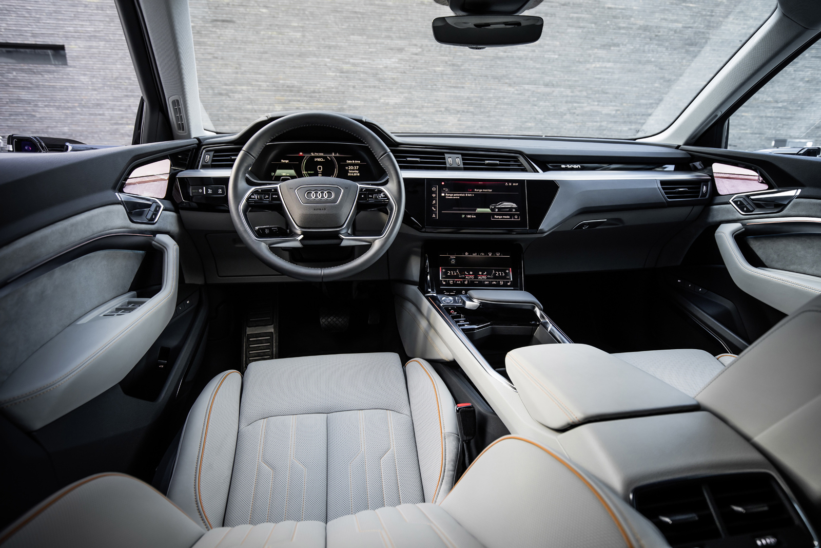 Audi E Tron Prototype Interior Revealed And It S Fancy