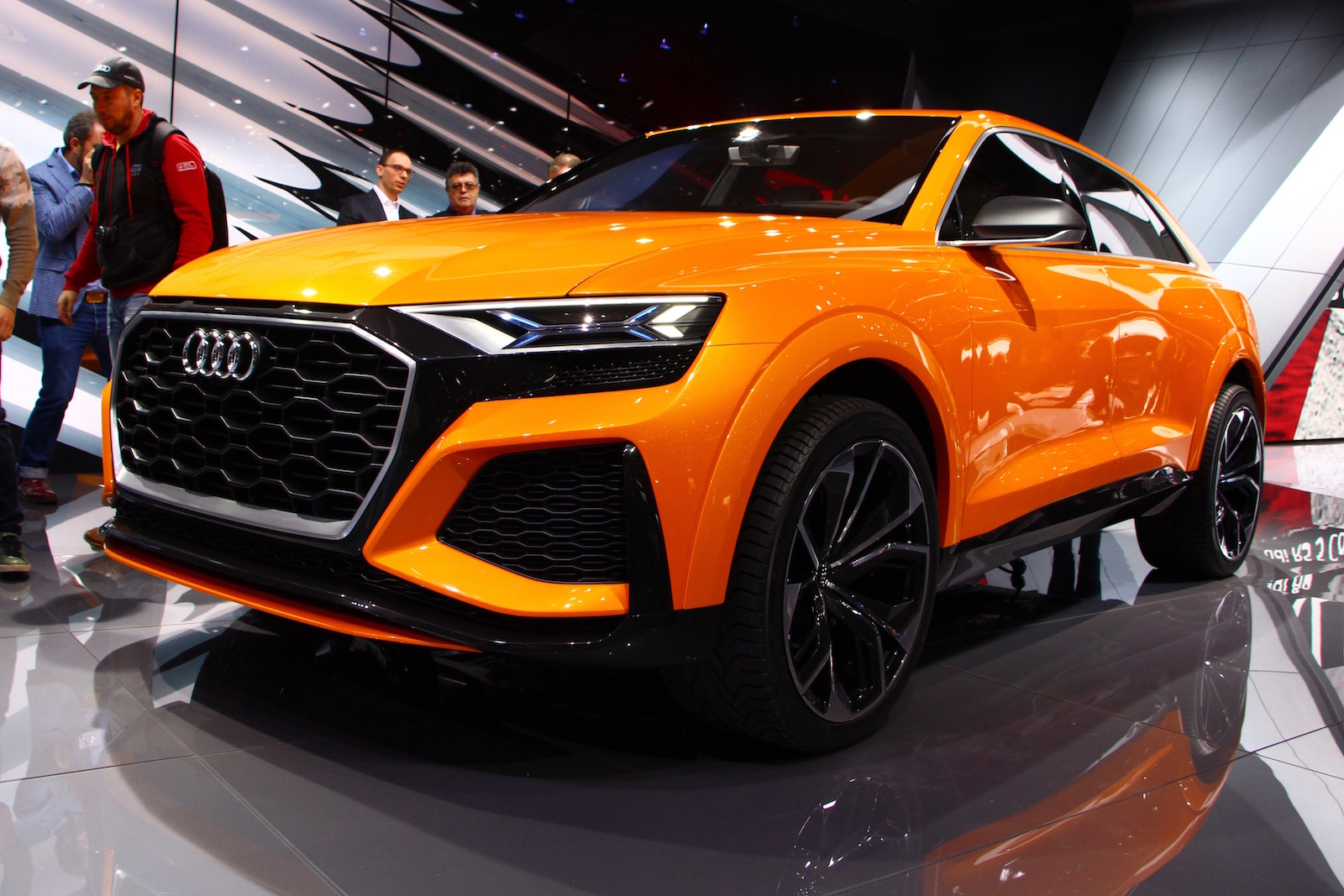 Mild Hybrid Audi Q8 Sport Concept Shows Closer To