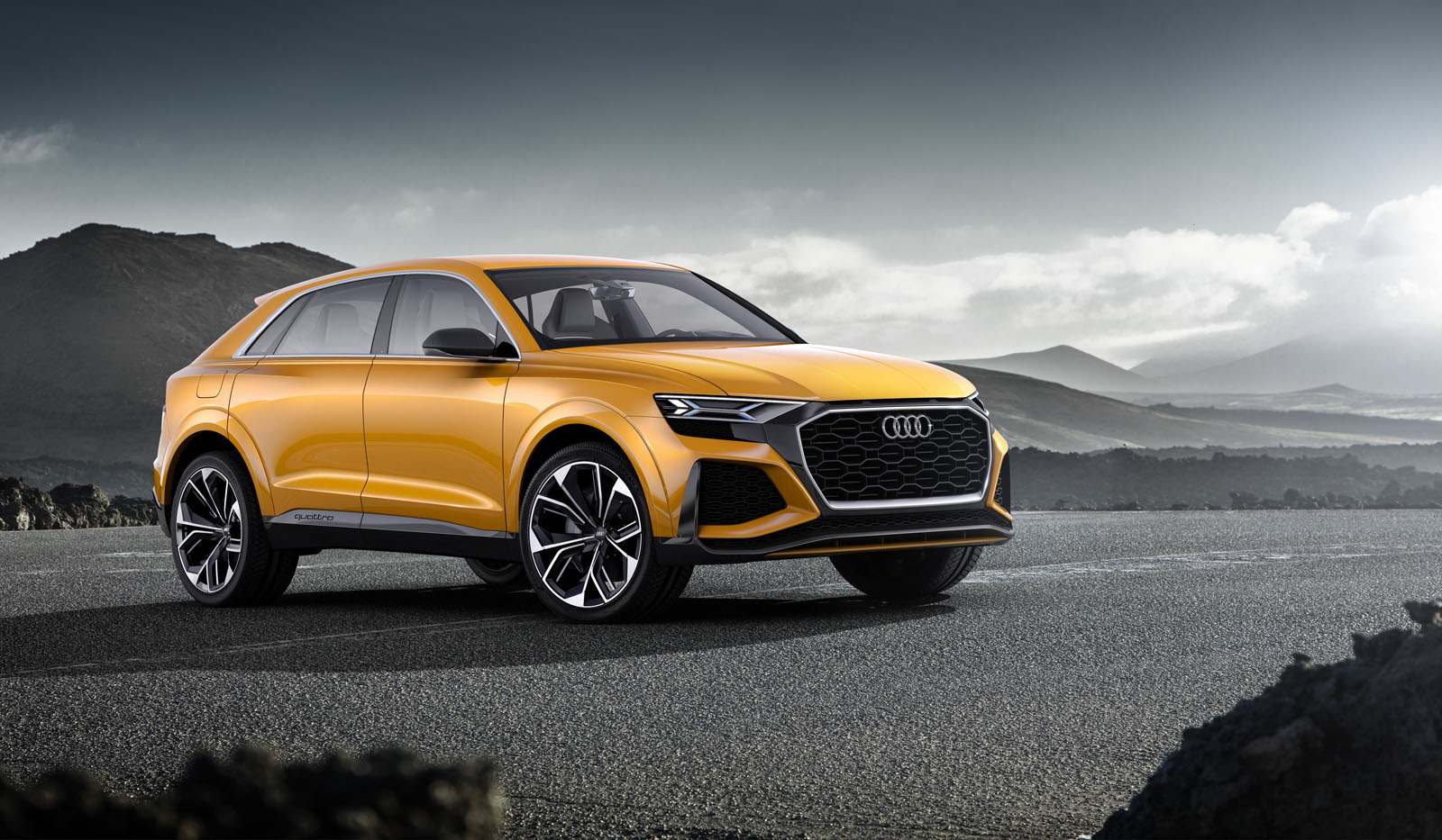 audi bets big on crossovers suvs news. Black Bedroom Furniture Sets. Home Design Ideas