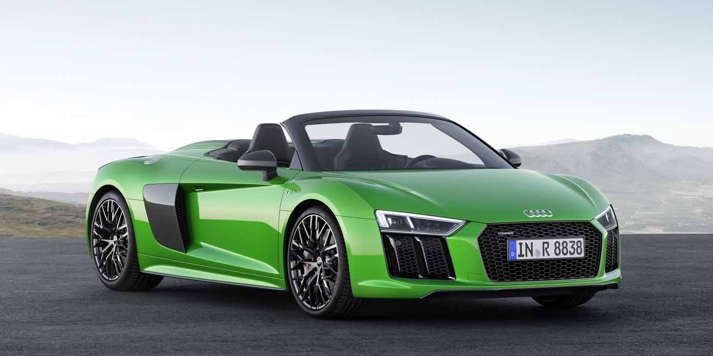 the r8 spyder v10 plus is audi s most powerful convertible ever. Cars Review. Best American Auto & Cars Review