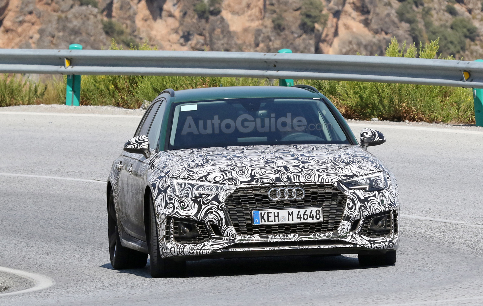 Audi RS Avant Spied Shedding A Bit Of Camouflage Before Its Debut - Audi rs4