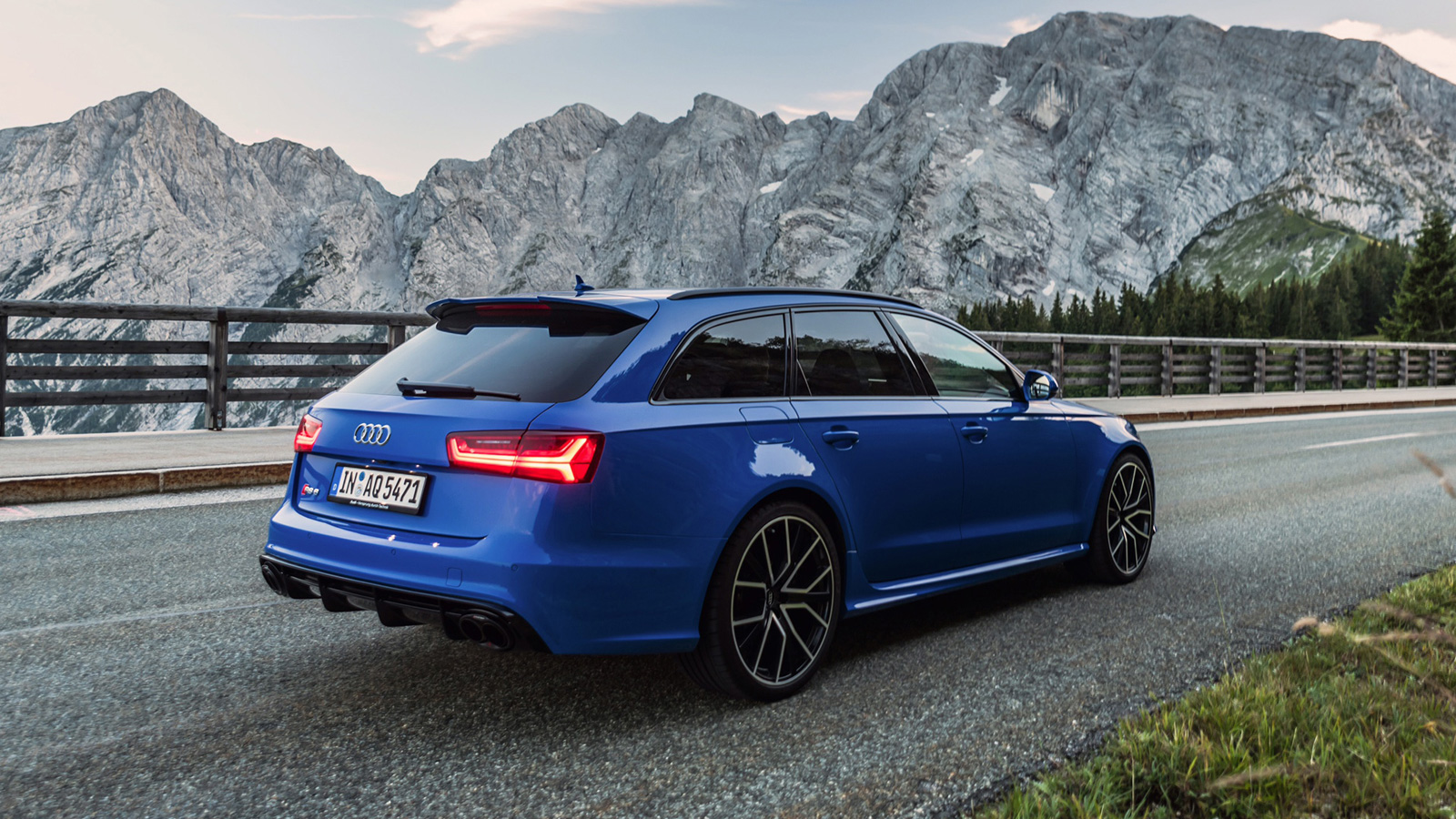 Audi RS6 Wagon Bids Farewell With Special Nogaro Edition » AutoGuide ...