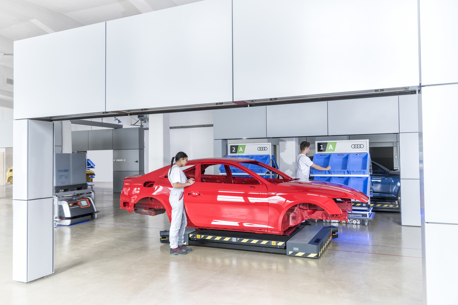 Here S How Audi Plans To Scrap The Assembly Line