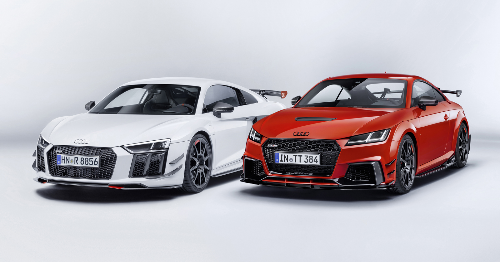 you can now get an audi sport aero kit for the r8 and tt news. Black Bedroom Furniture Sets. Home Design Ideas