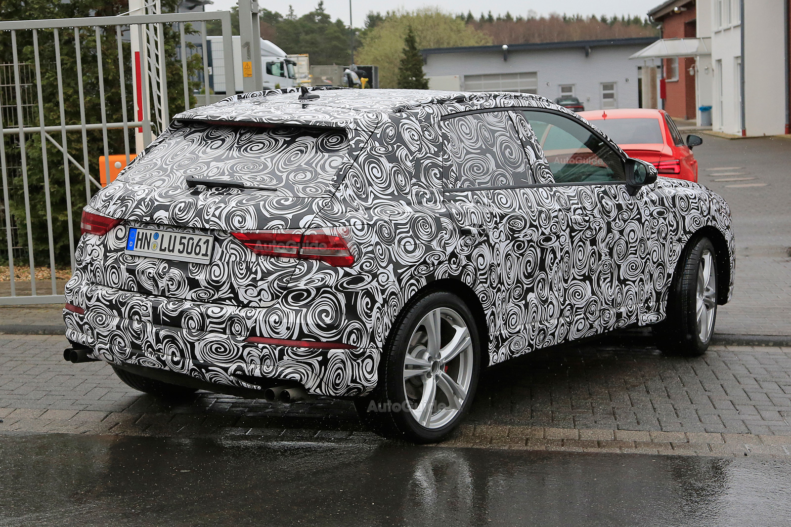 2020 Audi SQ3 Performance Crossover >> 2020 Audi Sq3 Surfaces For The First Time Autoguide Com News