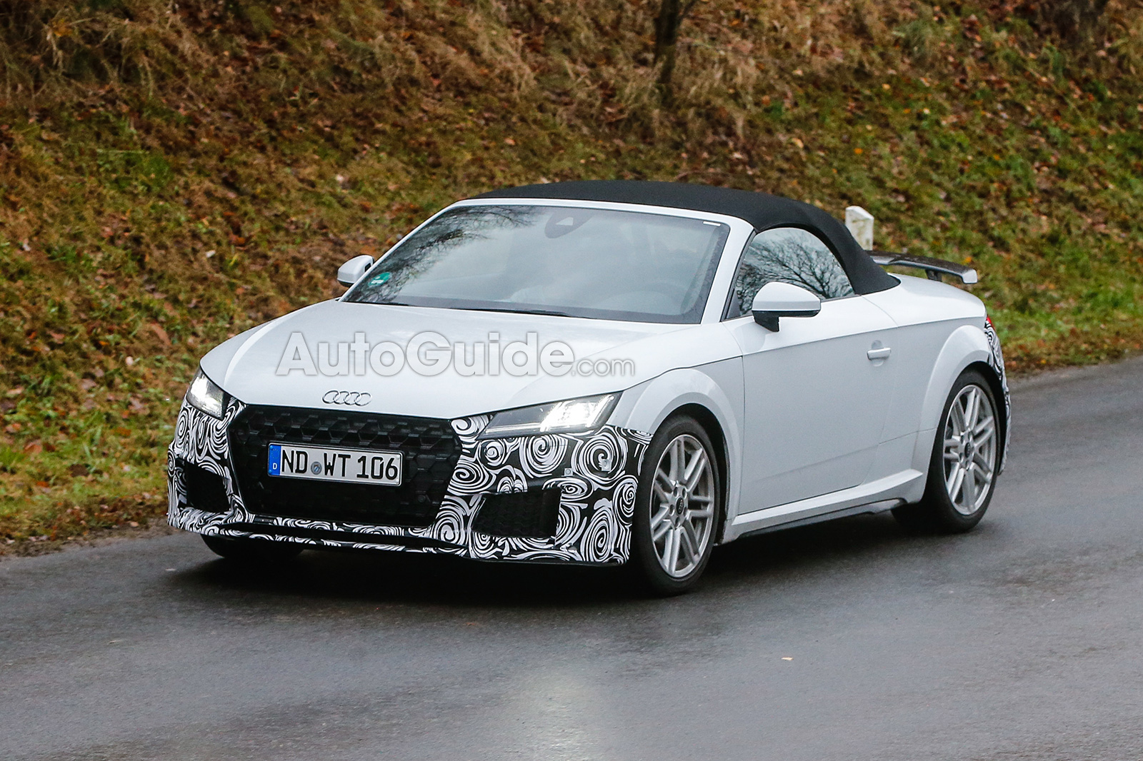 Audi Tt Facelift Spy Photos 01 ...