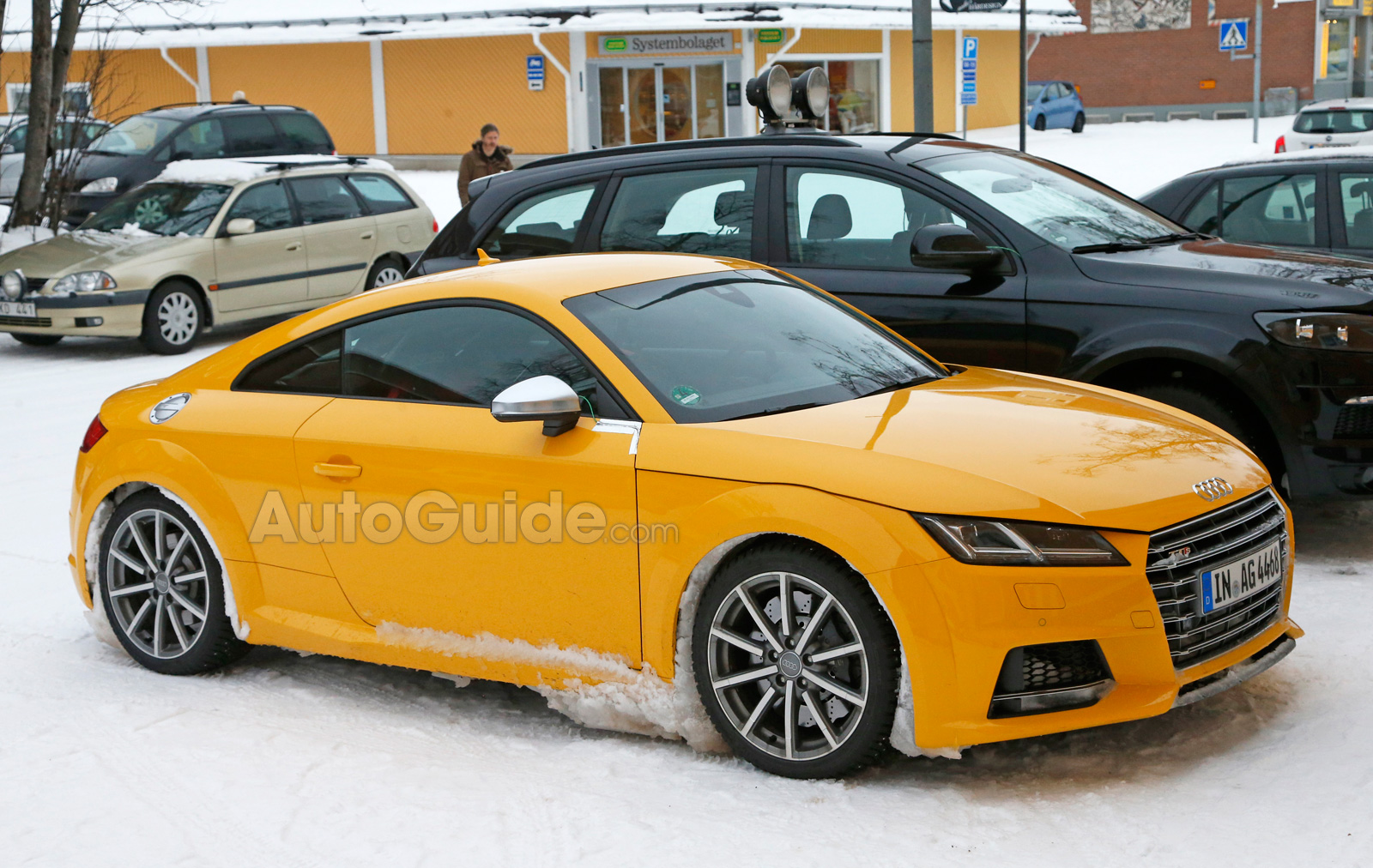 Audi TT RS Spied With A Manual Transmission - Audi tt manual transmission