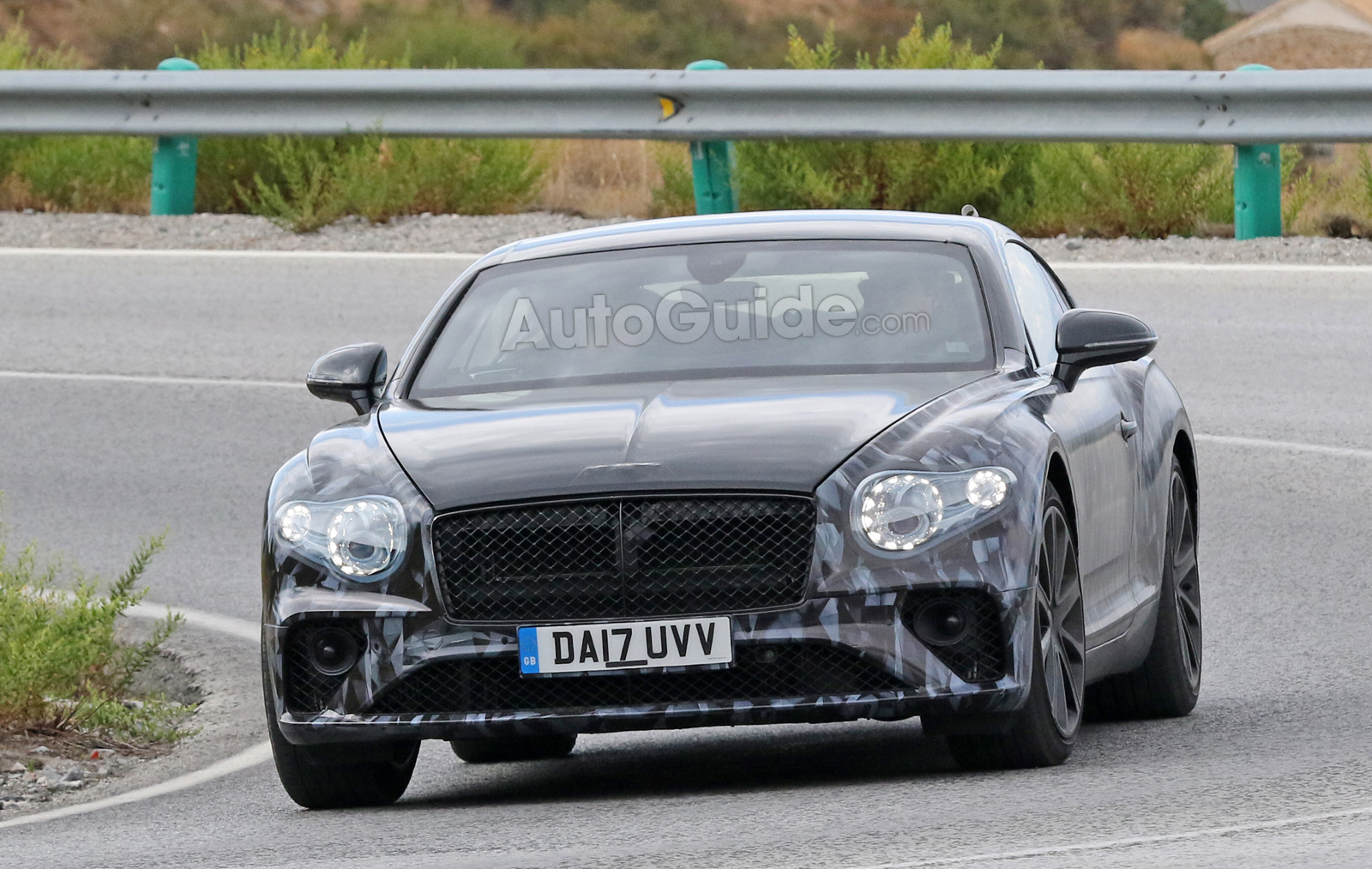 Bentley unveils details of third-generation Continental GT auto
