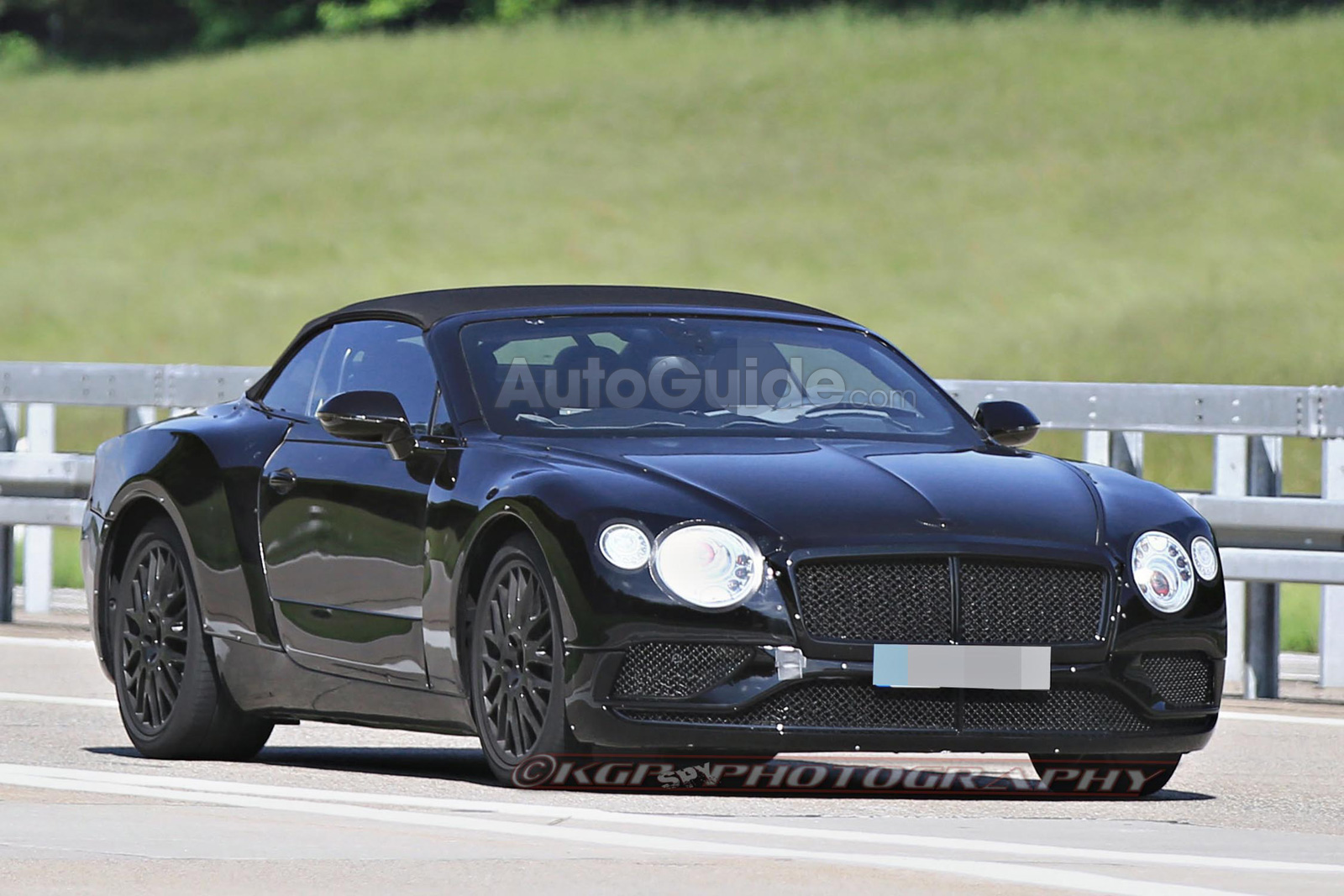2019 Bentley Continental GTC Spied Testing with Sporty Styling » AutoGuide.com News