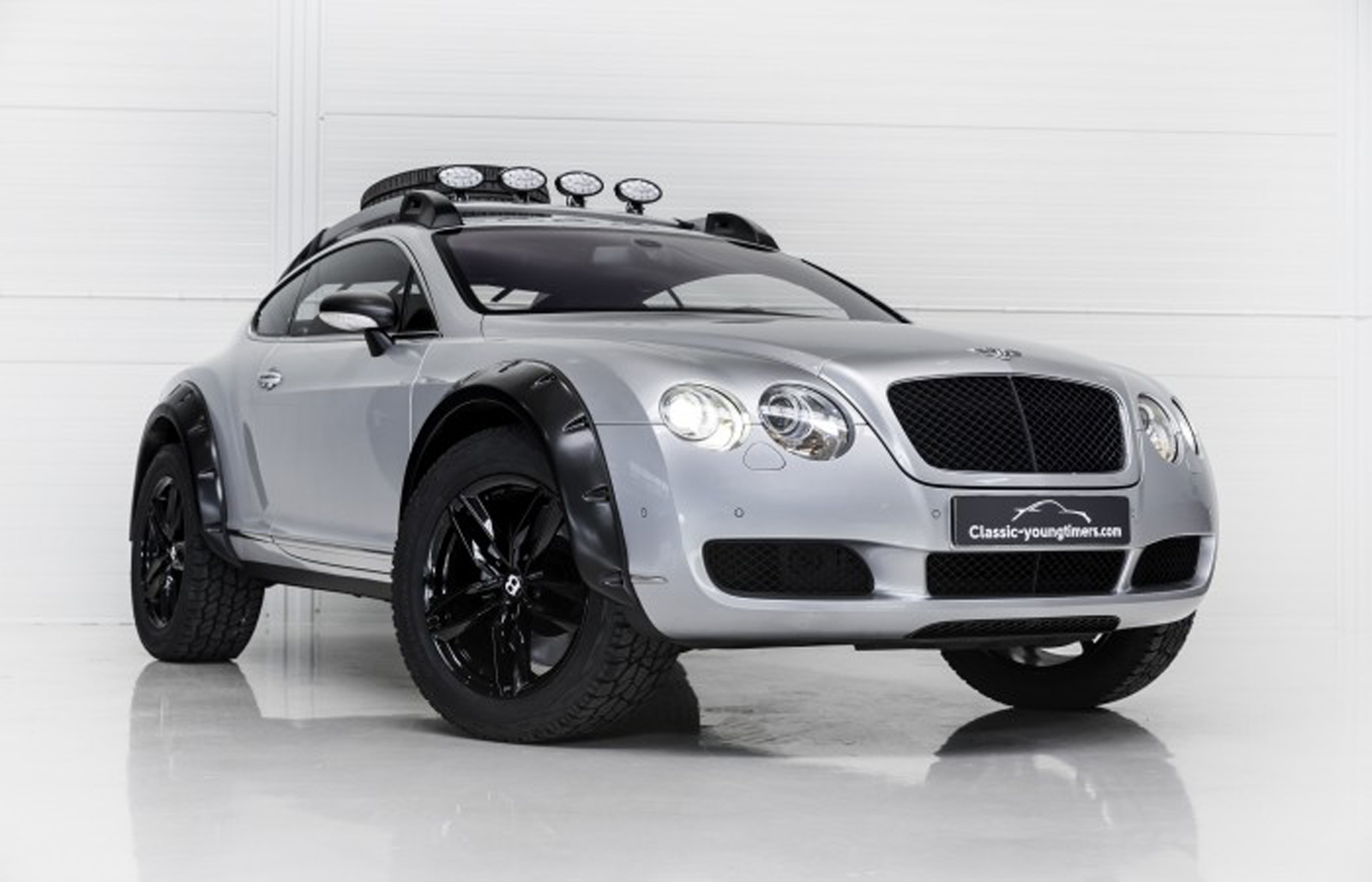 another off road ready bentley continental gt is for sale. Black Bedroom Furniture Sets. Home Design Ideas