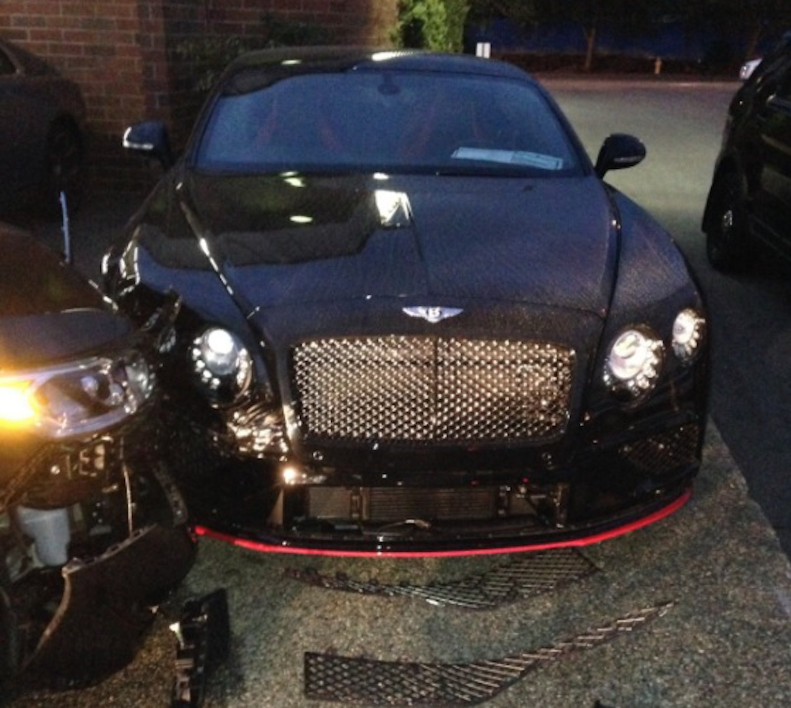 man hits bentley, rolls-royce in the most privileged of rampages
