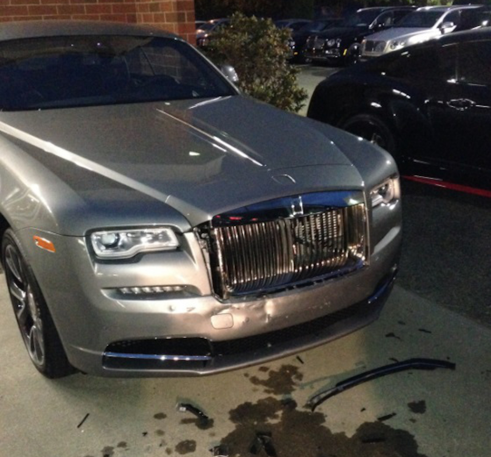 Man Hits Bentley RollsRoyce in the Most Privileged of Rampages
