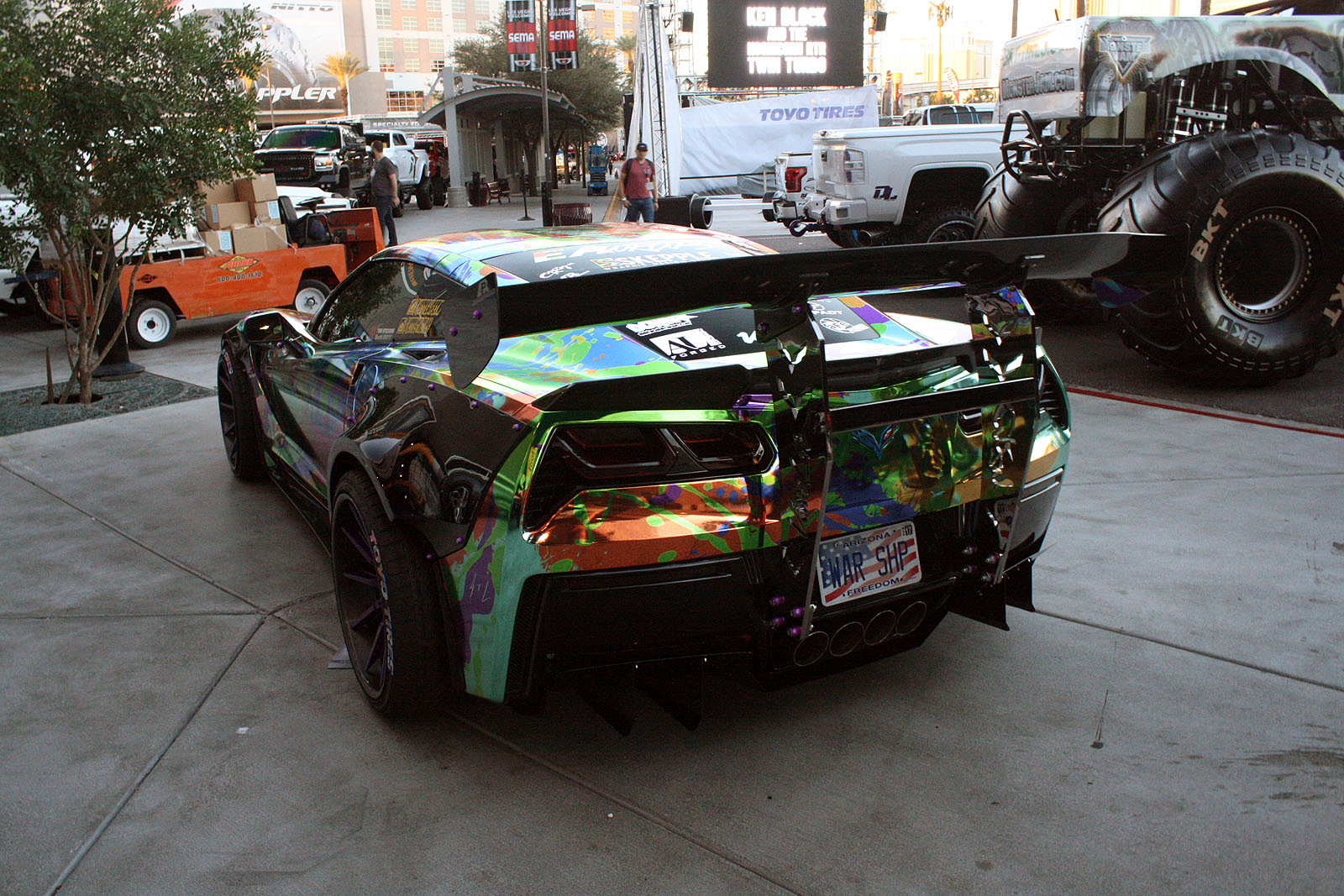 Gallery Most Interesting Paint Jobs And Exterior Finishes At SEMA