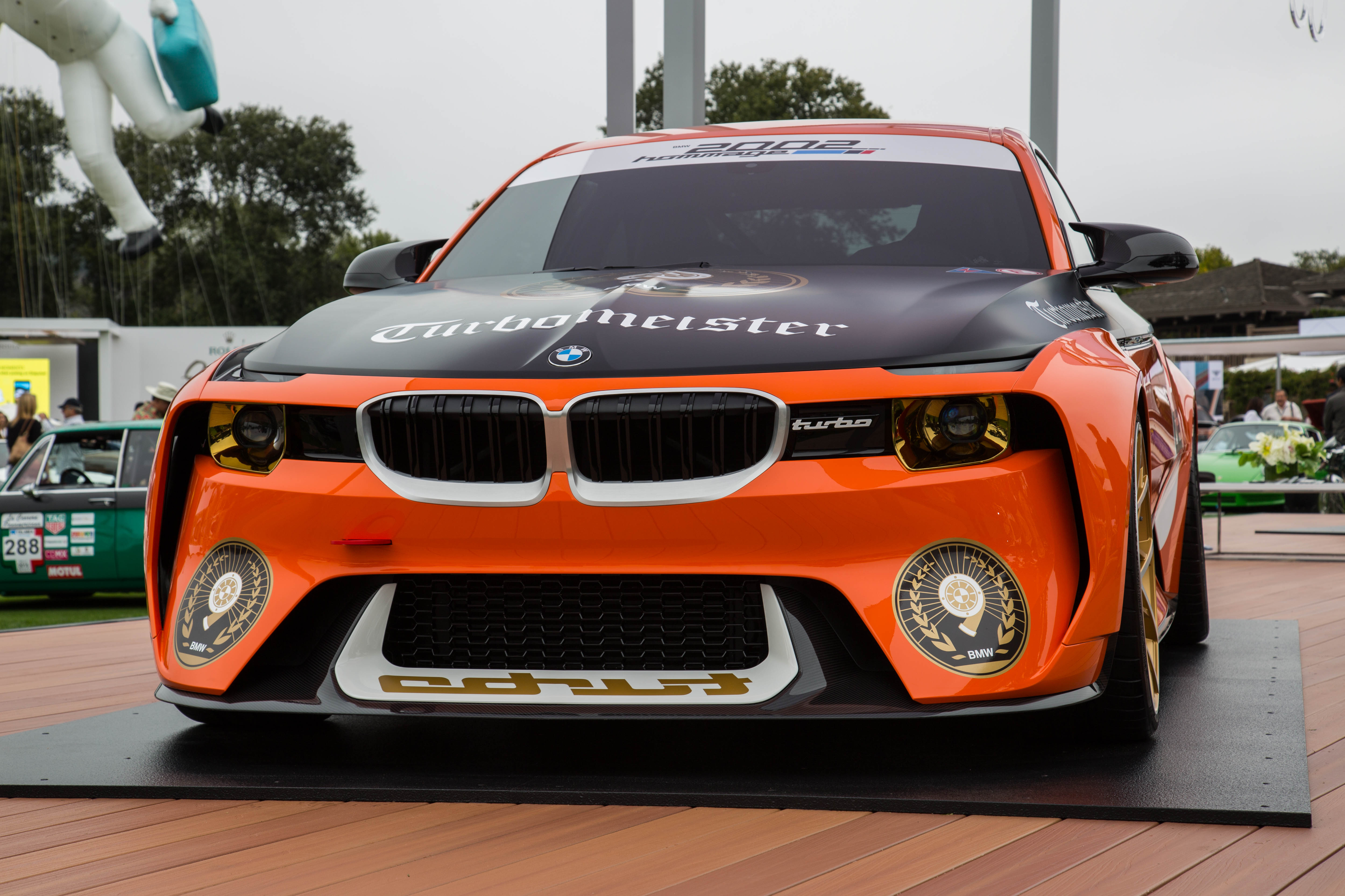 Bmw 2002 Hommage Looks Even Better In Orange And Black Autoguide Com News