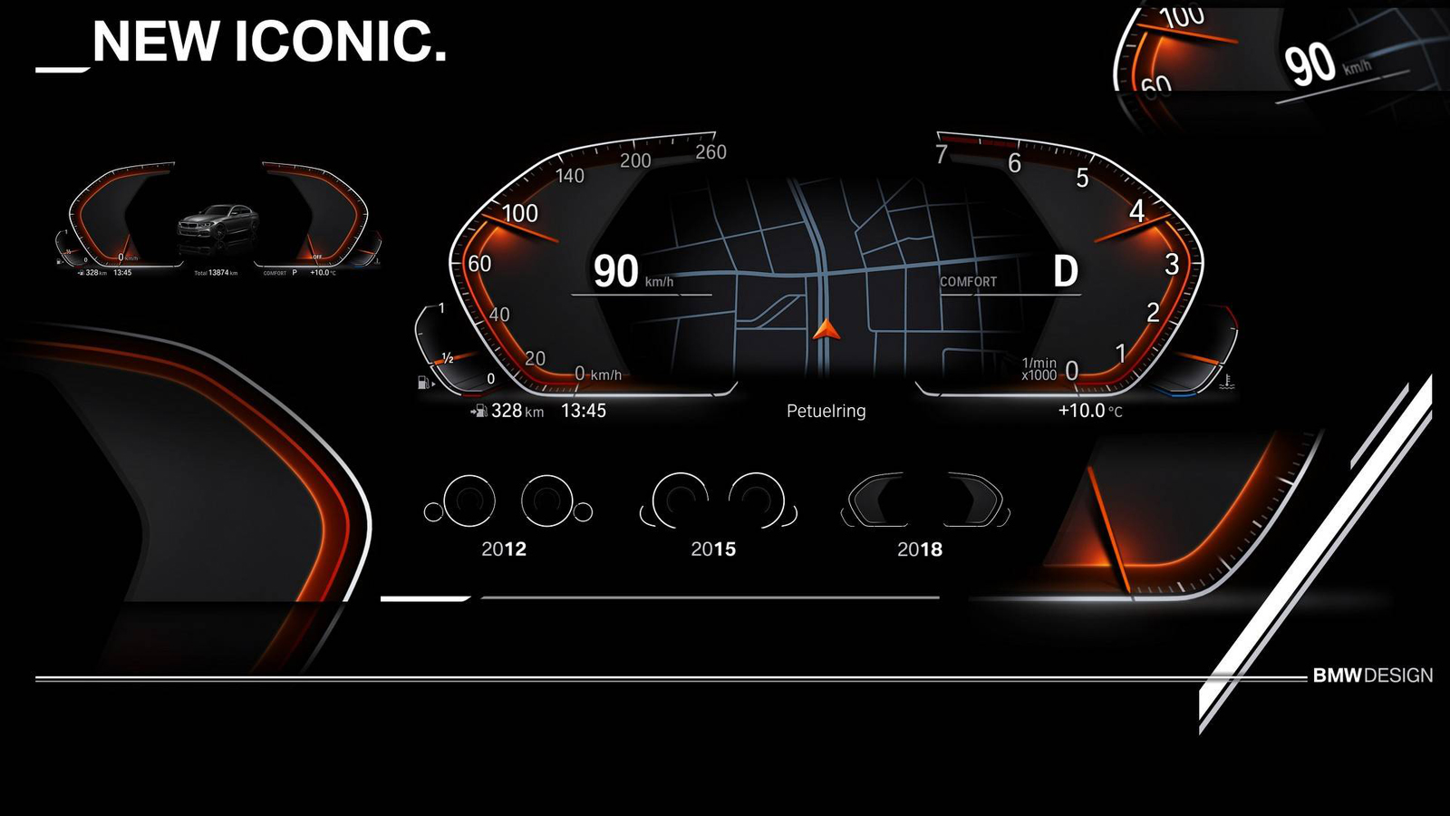 BMW Shows Off Its Snazzy New Digital Instrument Display AutoGuide - Auto display