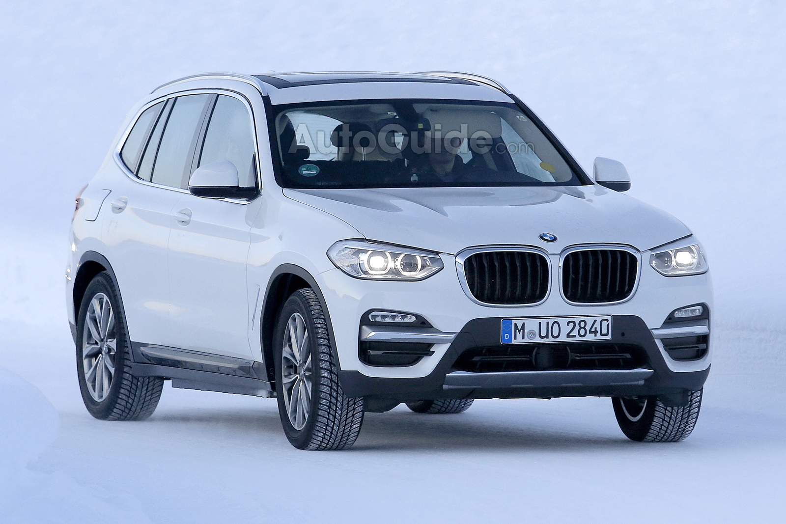 First Photos Of Pure Electric BMW IX3 Crossover