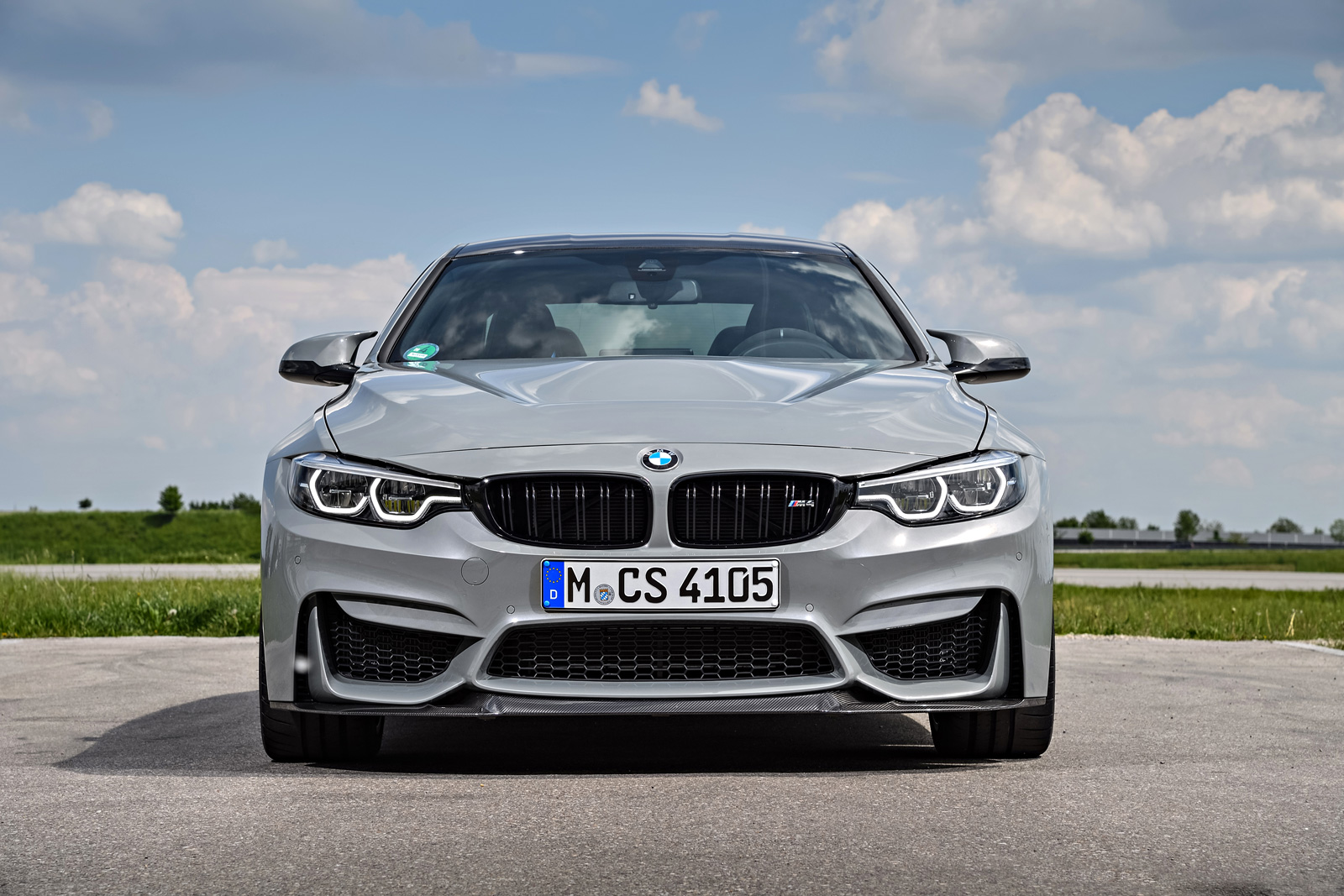 bmw m4 cs also looks great in grey news. Black Bedroom Furniture Sets. Home Design Ideas