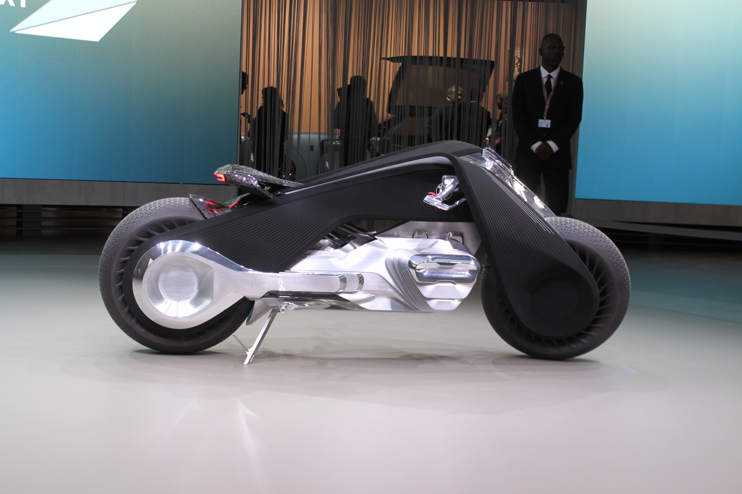 bmw concludes 100th birthday tour in la with new motorcycle concept rh autoguide com BMW Motorrad GS BMW Motorcycles