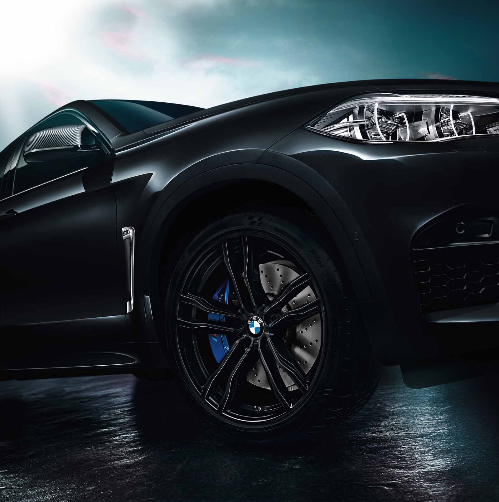 bmw x5 m x6 m black fire 17