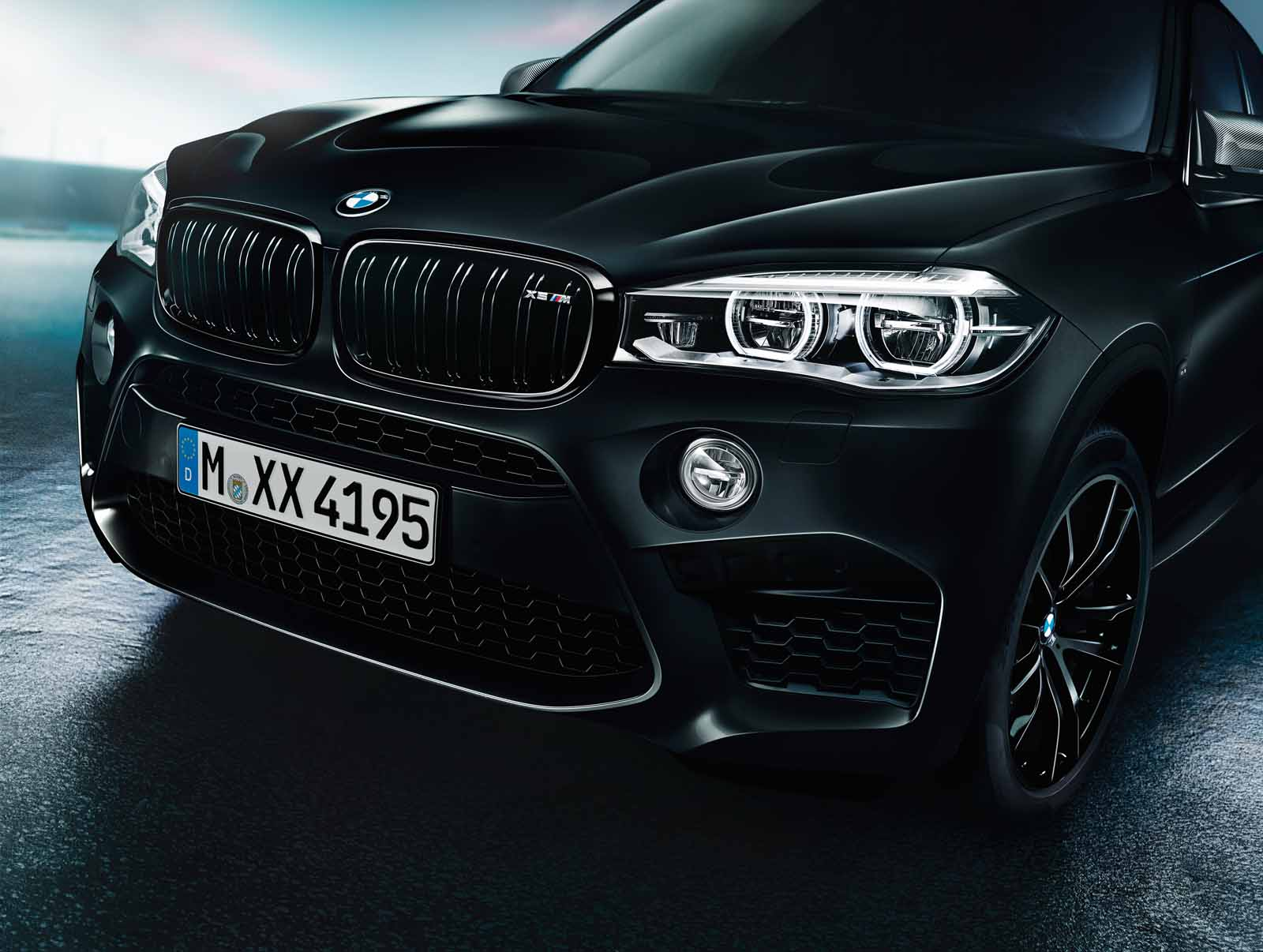 bmw x5 m x6 m black fire 21