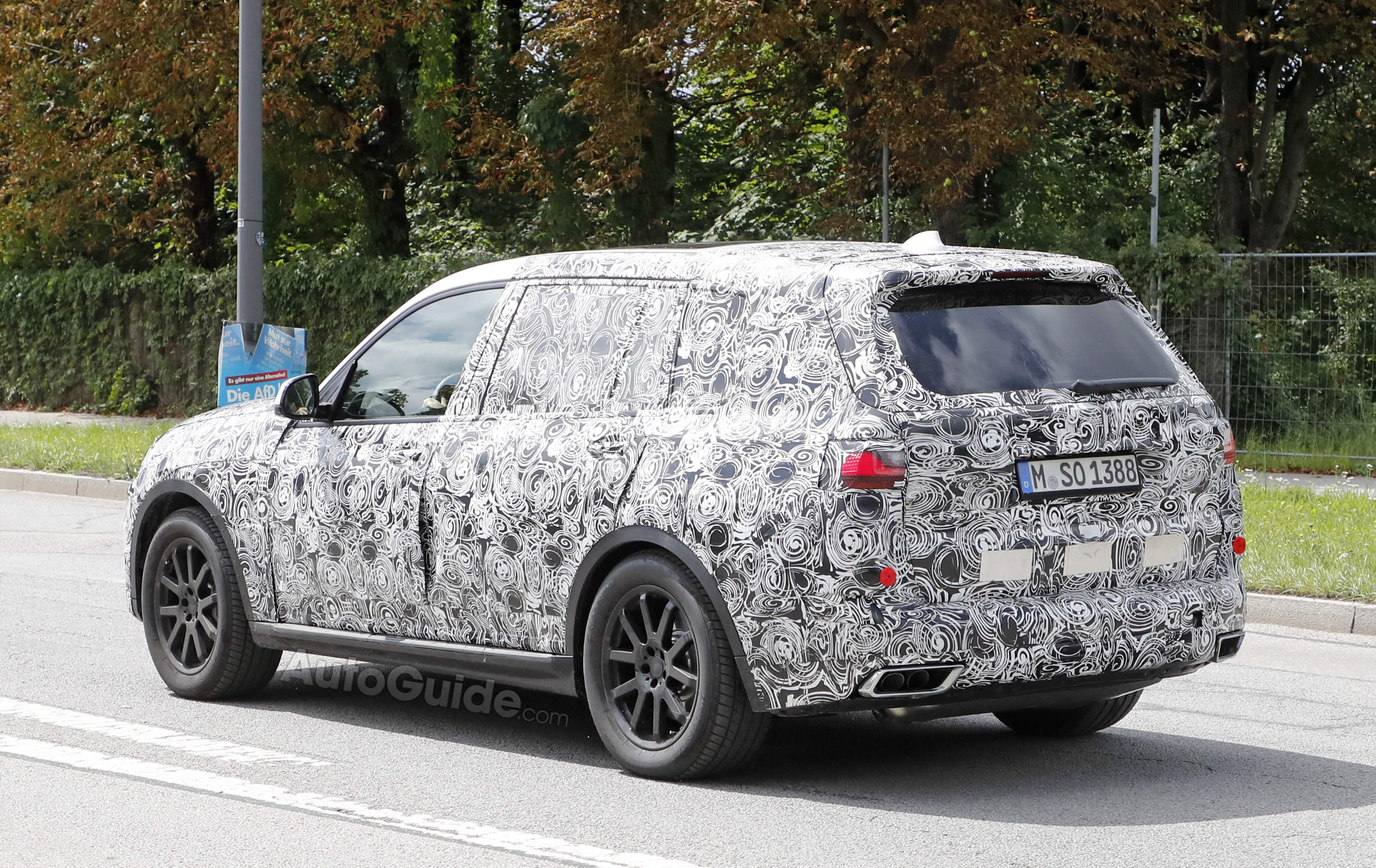 BMW X7 Spied With Production Headlights and Taillights  AutoGuide