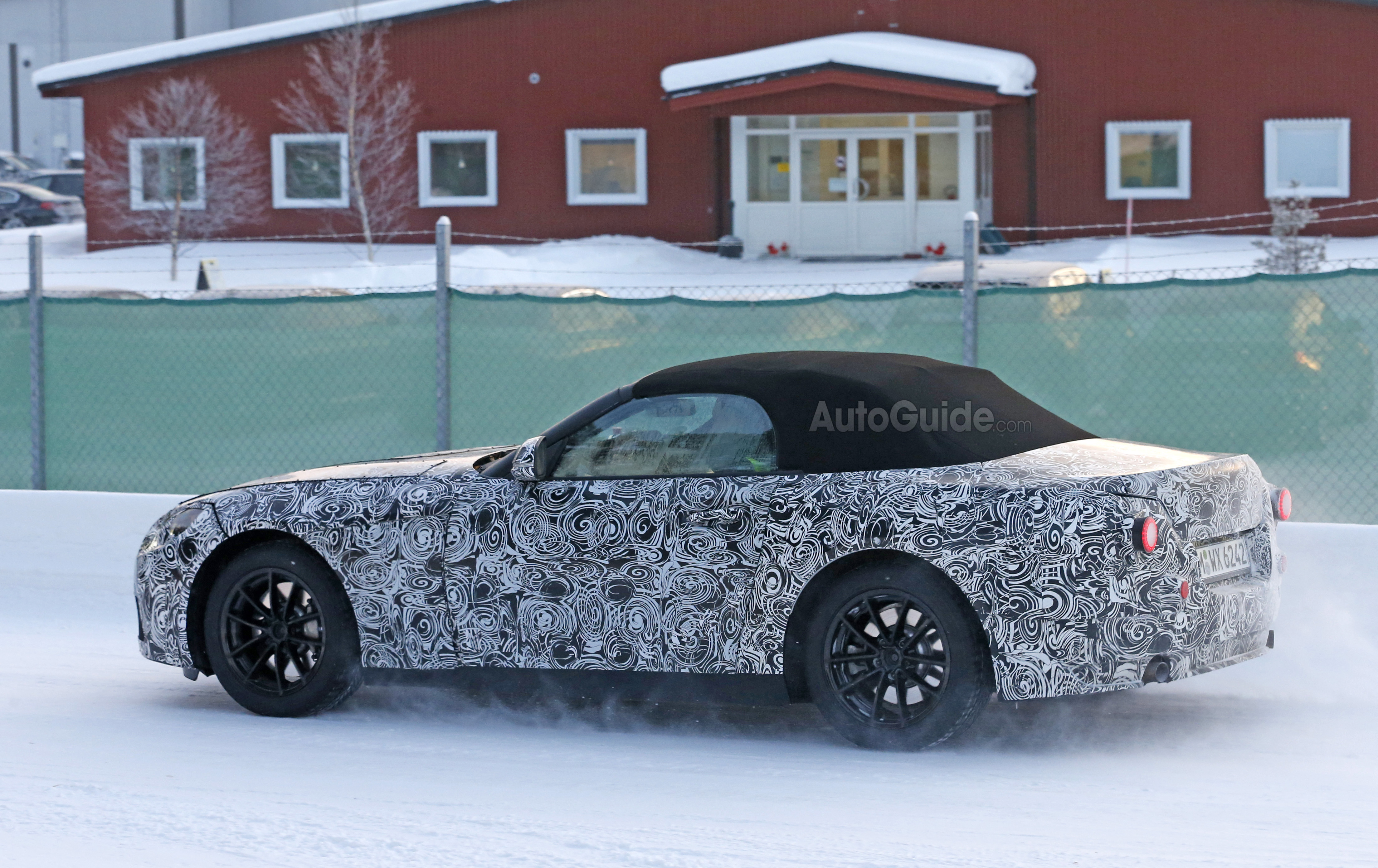 New BMW Z5/Toyota Supra Replacement Caught on Spy Video » AutoGuide ...