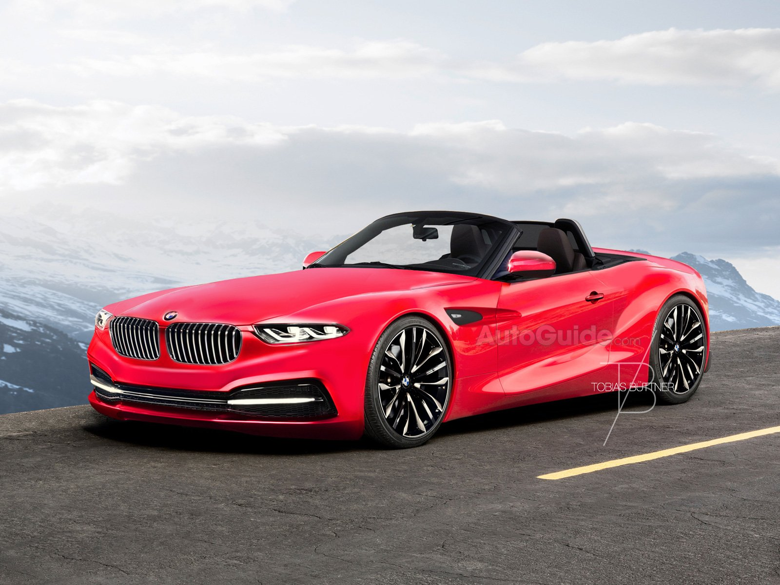 Digital Artist Imagines How The Bmw Z5 Will Look 187 Autoguide Com News