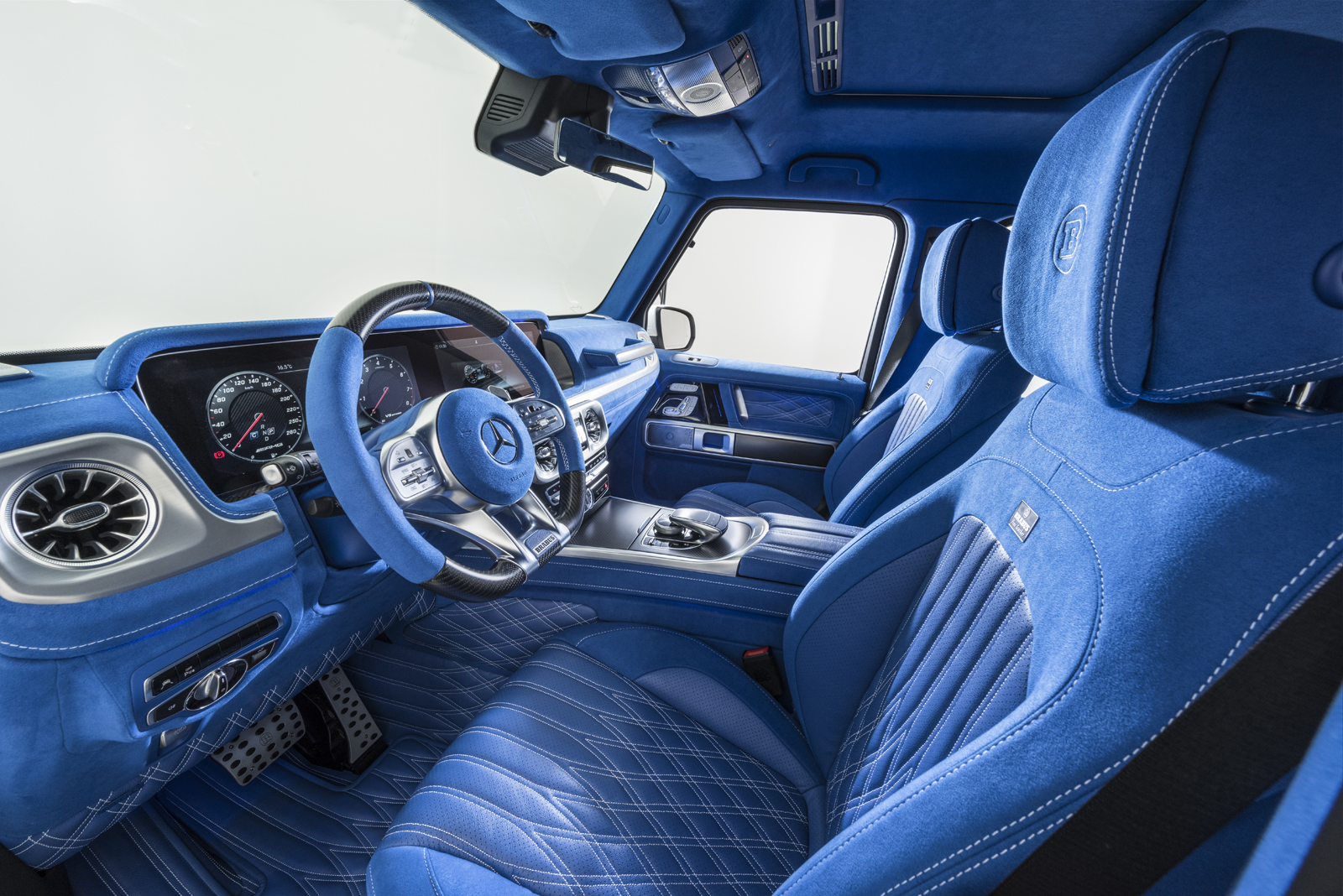 There Is Nothing More Blue Than This G63 Amg Interior Autoguide Com News