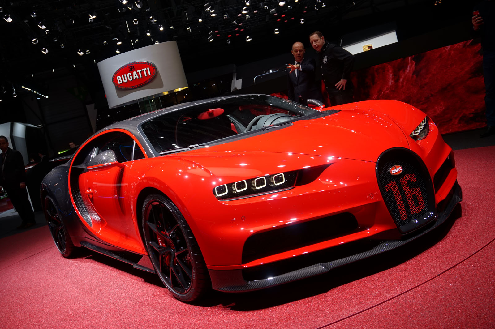 Bugatti Chiron Sport is the First Car With Carbon ...