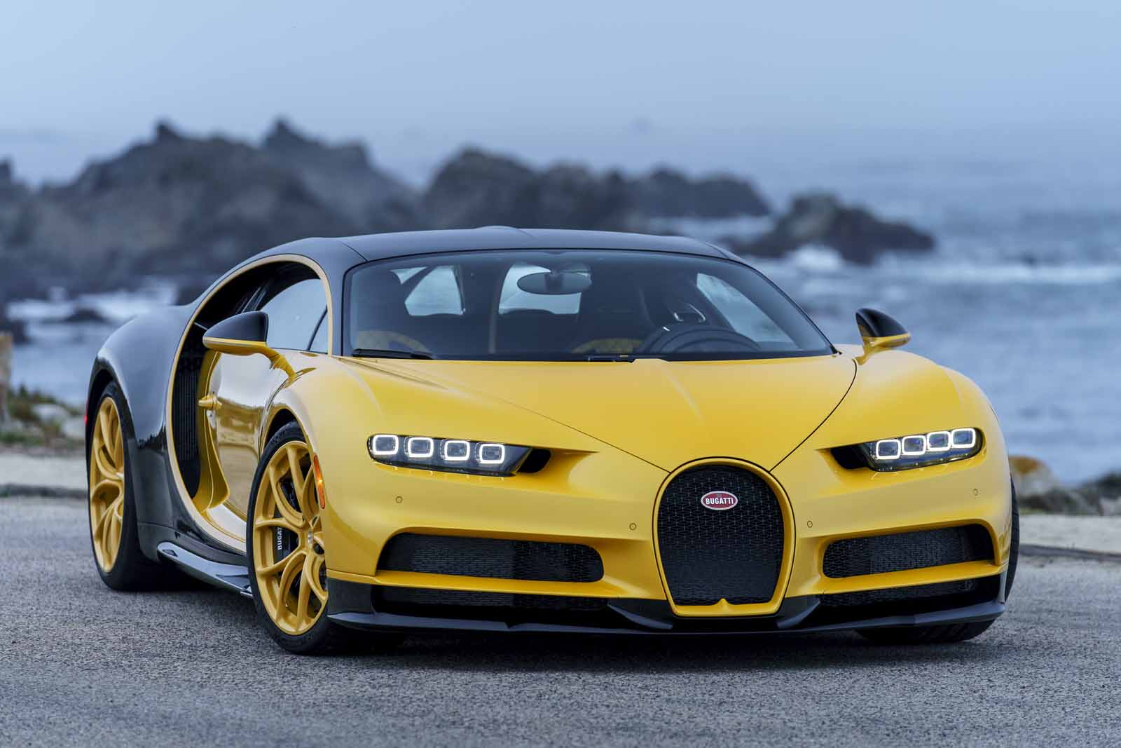 Bugatti Delivers Unique Yellow Chiron To First Customer In